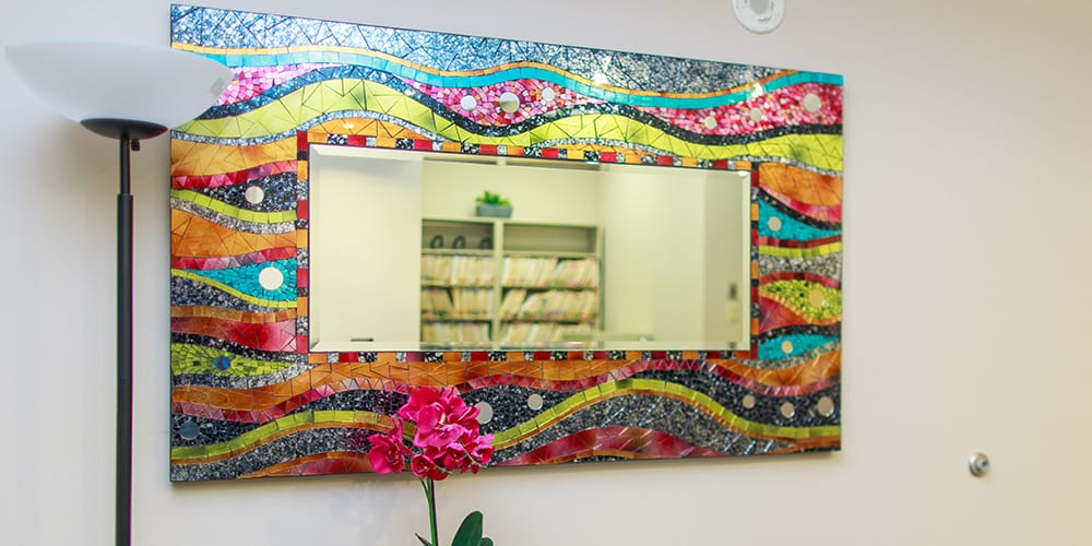mt. pleasant waiting room mirror